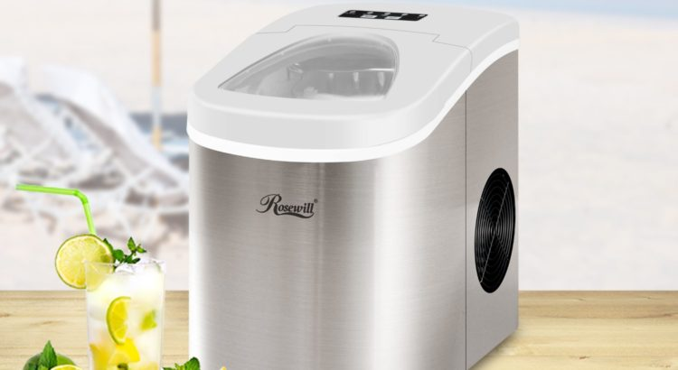 Rosewill Stainless Steel Ice Maker