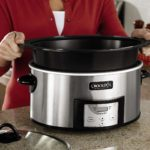 Crock-Pot SCCPVI600-S 6-Quart Countdown Programmable Oval Slow Cooker