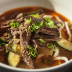 Korean Noodles with Beef